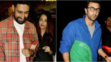 Abhishek Bachchan and Aishwarya Rai, Ranbir Kapoor