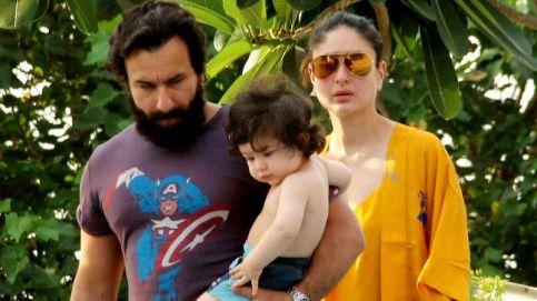 Saif Ali Khan with wife Kareena Kapoor Khan and son Taimur