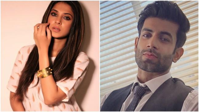 Jennifer Winget and Namik Paul