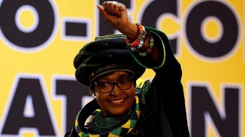 Winnie Madikizela Mandela dies at 81. Photo: Reuters
