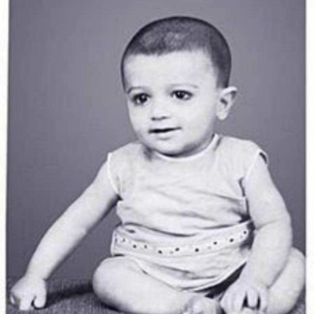 Ajith as a baby