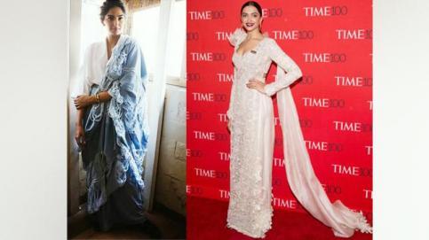 Sonam Kapoor and Deepika Padukone
