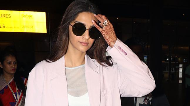 Sonam Kapoor returns from Cannes