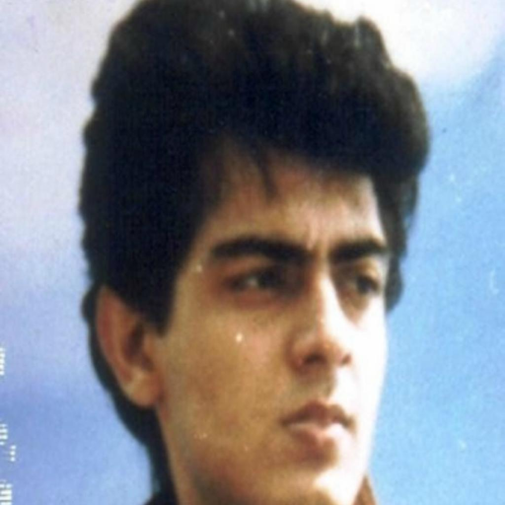 Ajith in his early 20s