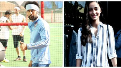 Ranbir Kapoor and Ananya Panday