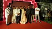 Allu Aravind with Mahanati team