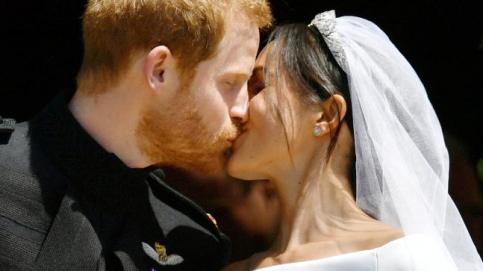 Prince Harry and Meghan Markle are now man and wife