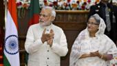 PM Narendra Modi and Sheikh Hasina