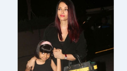 Aishwarya Rai Bachchan leaves for Cannes