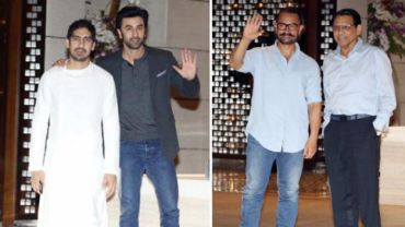Ranbir missed Sonam's sangeet and attended Ambani's engagement party