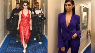 Deepika and Kangana send the mercury soaring with their wardrobe choices.