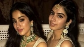 Sisters Janhvi and Khushi look regal in white