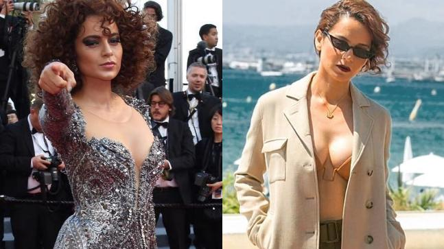 Kangana Ranaut's debut at Cannes 2018 was unforgettable.