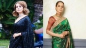Kangana Ranaut shows how no one slays like her in a saree