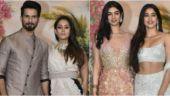 Sonam-Anand Wedding Reception: Shahid-Mira and Janhvi-Khushi dazzle at the bash