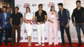 The team of Race 3 launched the trailer of the film today. Photo: Yogen Shah