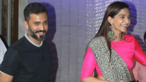 Anand Ahuja and Sonam Kapoor are tying the knot on May 8. Photo: Yogen Shah