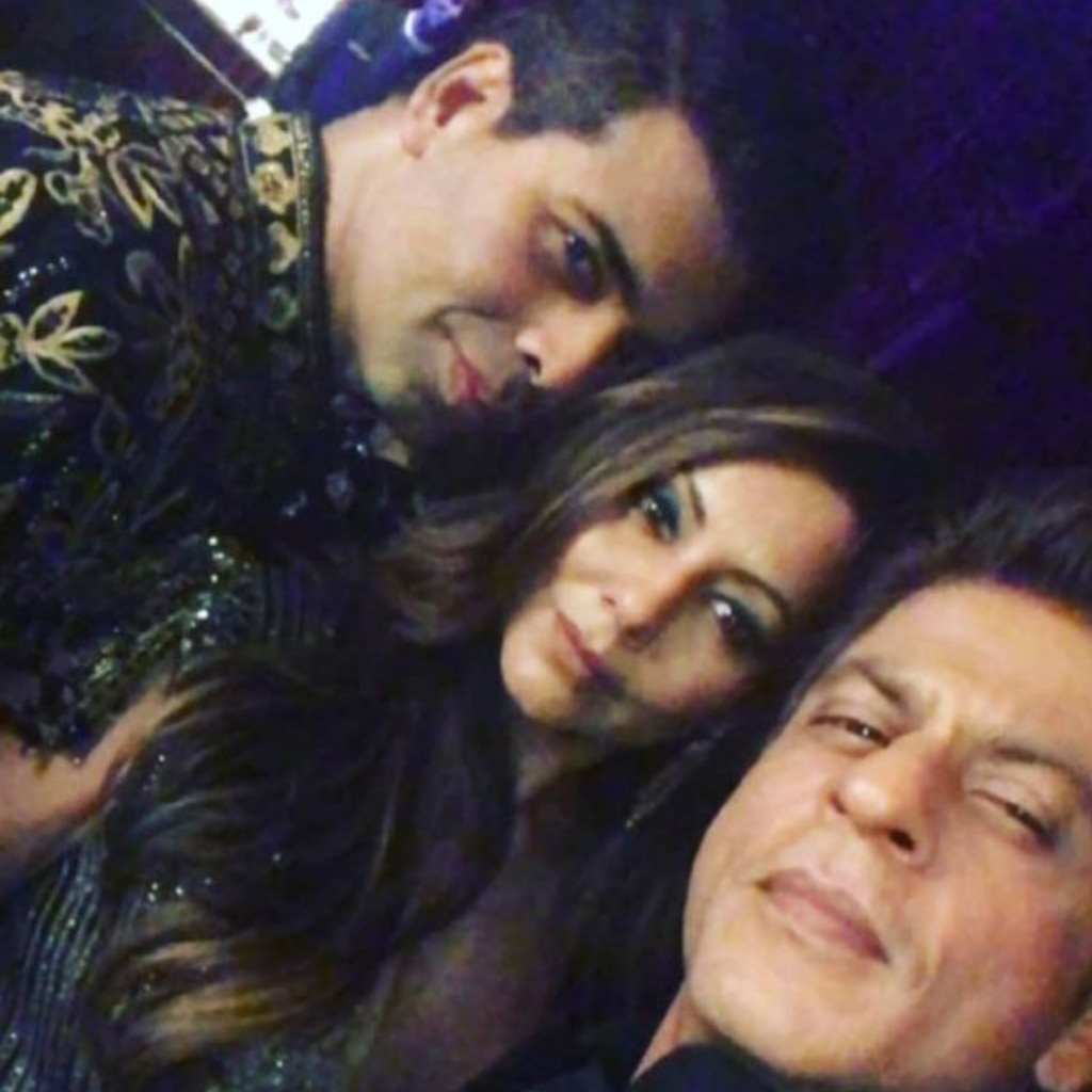 Karan Johar, Gauri and SRK