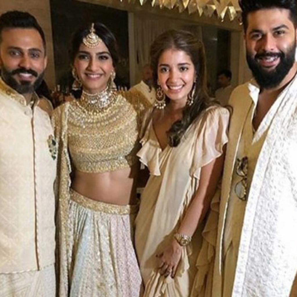 Anand Ahuja, Sonam Kapoor, Kunal Rawal