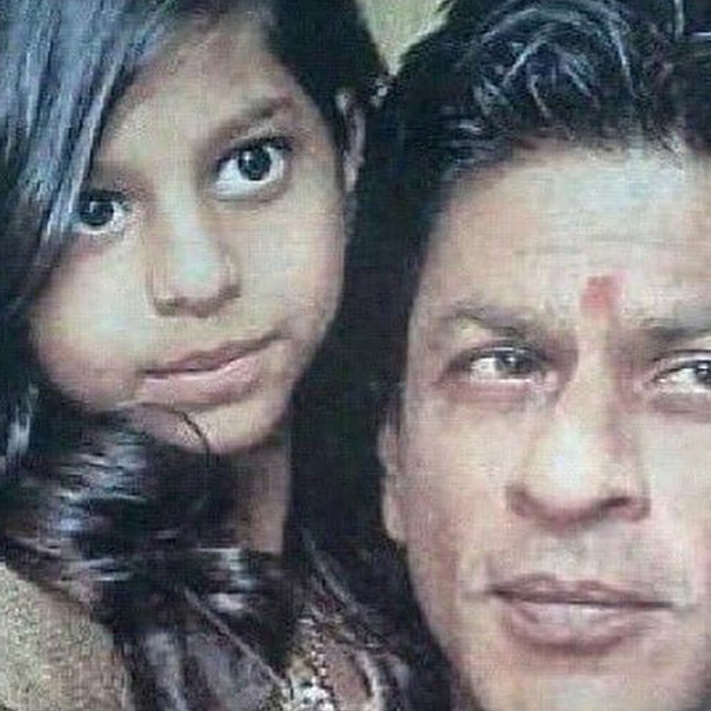 Shah Rukh Khan and Suhana