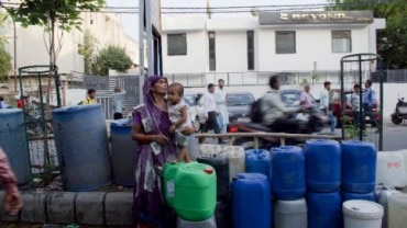 delhi faces severe water scarcity
