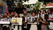 Kolkata protest Shujaat Bukhari