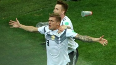 2018 FIFA World Cup, Germany vs Sweden, Romelu Lukaku, Toni Kroos