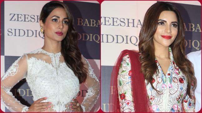 Hina Khan and Shama Sikander
