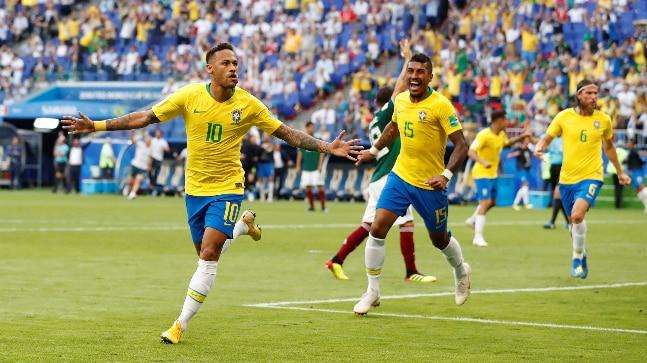 2018 FIFA World Cup,Brazil vs Mexico,Neymar
