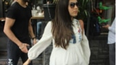 Mira Rajput flaunts baby bump on a day out in town
