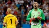 World Cup 2018: Goalkeepers dazzle as Russia, Croatia win penalty shootouts