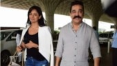Kamal Haasan and Pooja Kumar jet off to promote Vishwaroopam 2