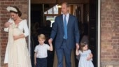 Prince Louis christening: Meghan is ravishing but Prince George and Princess Charlotte steal the show