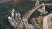 Vietnam opens Da Nang Golden Bridge with giant hands: In Pics