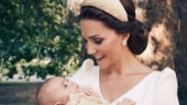Prince George and Princess Charlotte are the stars of Louis's christening portraits. See pics