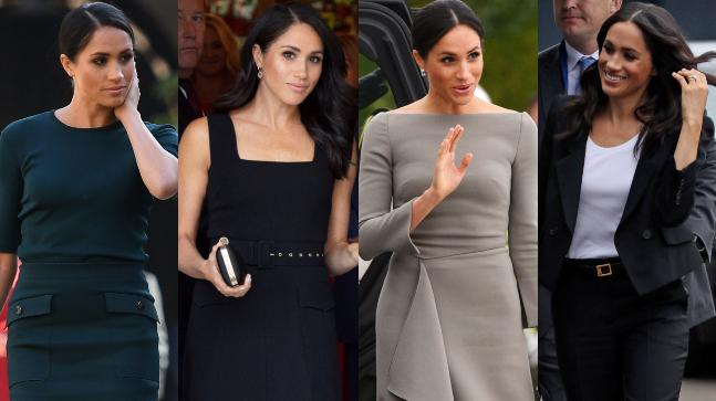 Meghan Markle in her four different looks during the Ireland tour with Prince Harry