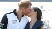 Meghan Markle and Prince Harry share a sweet moment Photo: twitter/@postbestfshn