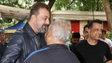 Sanjay Dutt and Paresh Ghelani