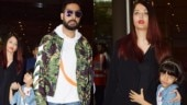 Aishwarya-Abhishek and daughter Aaradhya return from London vacation