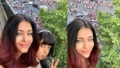 Aishwarya and Aaradhya celebrate France's World Cup 2018 win in Paris