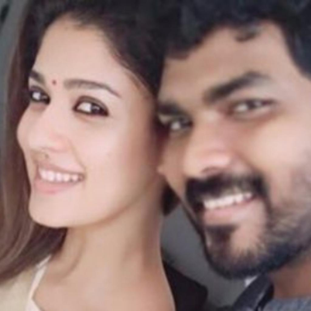 Nayanthara and Vignesh Shivan celebrating Onam