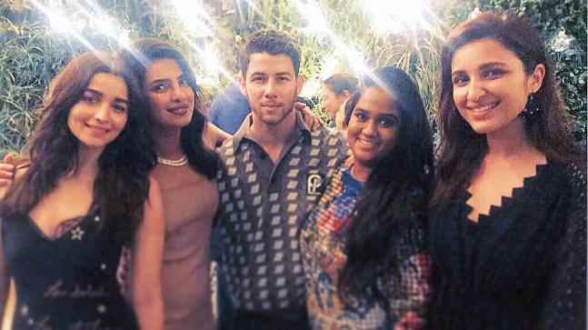 Priyanka Chopra and Nick Jonas's engagement bash