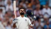 Virat Kohli scored his 23rd Test century as India set England a target of 521 at Trent Bridge.