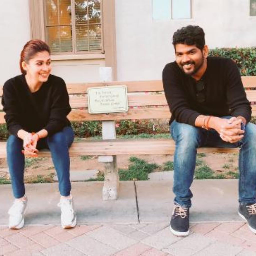 Nayanthara and Vignesh recreating the Forrest Gump scene