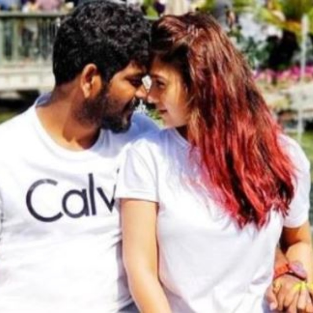 Vignesh and Nayanthara's recent click