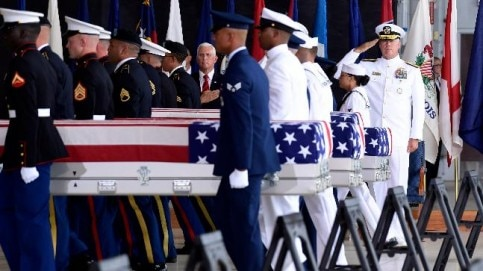 North Korea returns remains of 55 soldiers who died in Korean war