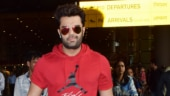 Maniesh Paul spices up his airport look with Rs 88k red bag. See pics