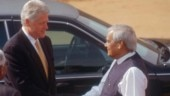Clinton, Sharif, Sharon: Vajpayee with world leaders