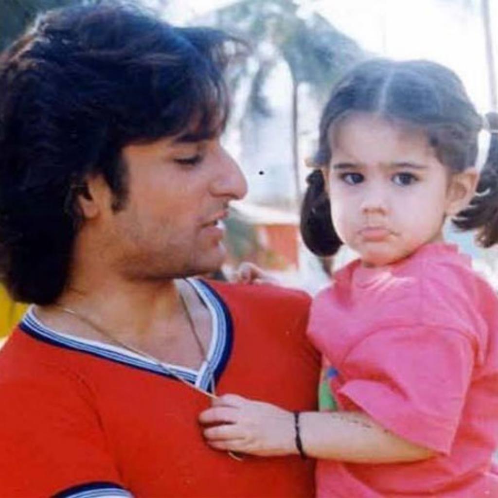 Saif Ali Khan and Sara