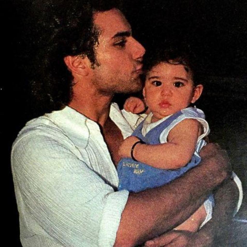 Saif Ali Khan with Sara